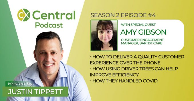 CX Central Podcast with Amy Gibson