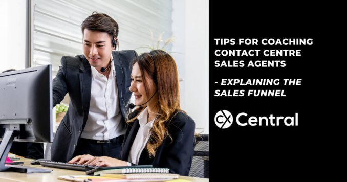 tips for contact centre sales on the sales funnel