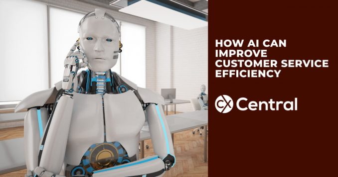 How AI can improve customer service efficiency
