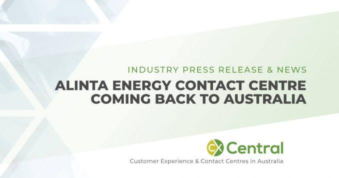 Alinta Energy call centre moves back to Australia