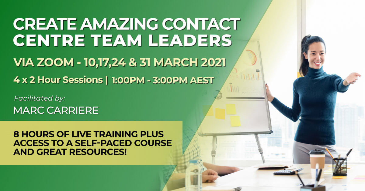 March 2021 Create Amazing Team Leaders training course online