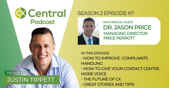 CX Central Podcast with Dr. Jason Price