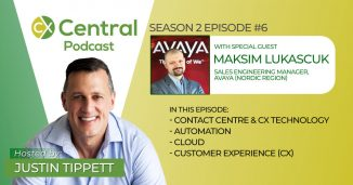 Maksim Lukascuk Podcast from Avaya