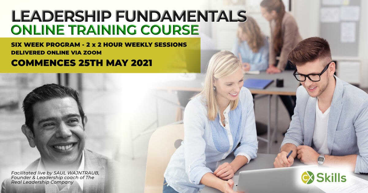 Online leadership fundamentals training course MAY 2021