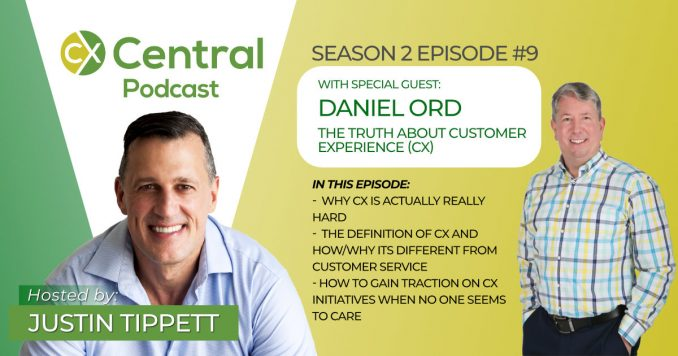 Talking CX with Daniel Ord