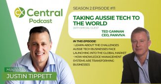 Taking aussie tech to the world podcast