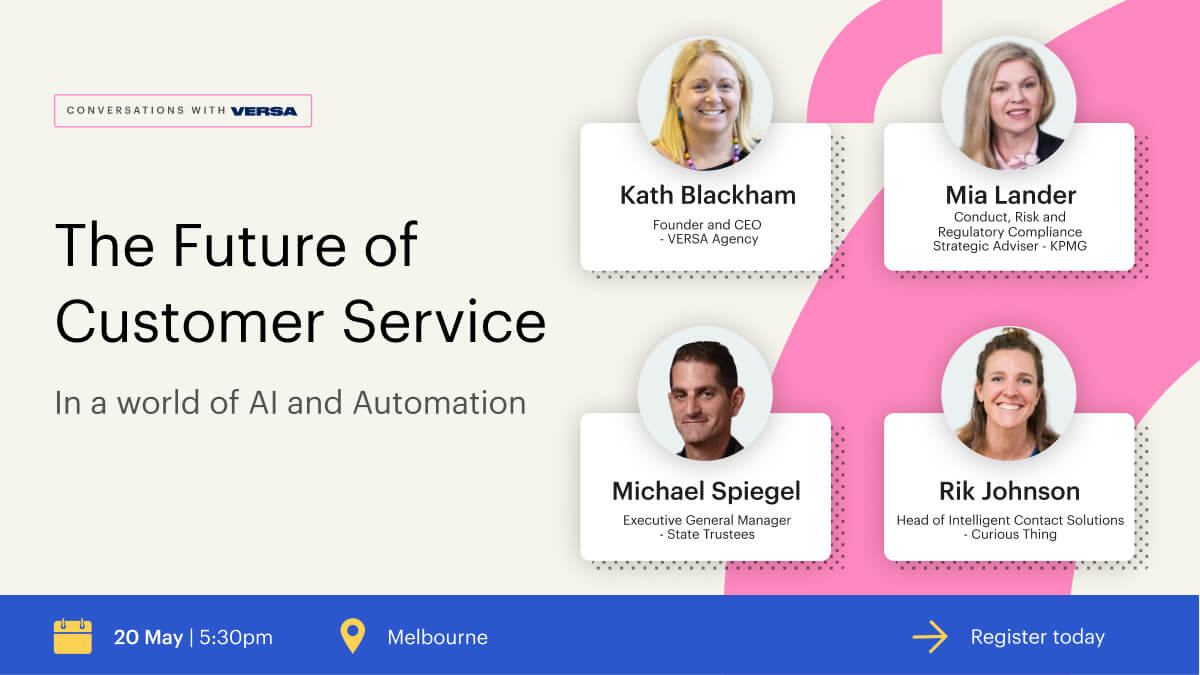 The Future of Customer Service in a world of AI and Automation workshop