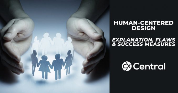 An insight into human centered design stages including flaws and success measures.