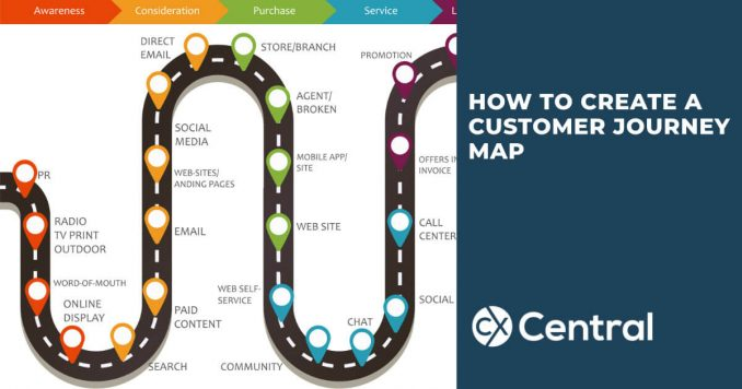 Tips for creating an effective customer journey map