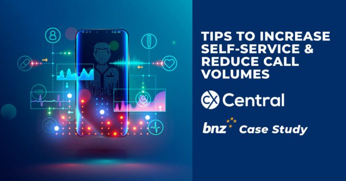 How to increase self-service and reduce call volumes
