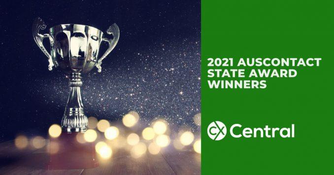 2021 Auscontact State Award Winners