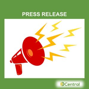 A megaphone with the words Press Release